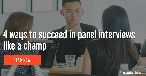 4 ways to succeed in panel interviews