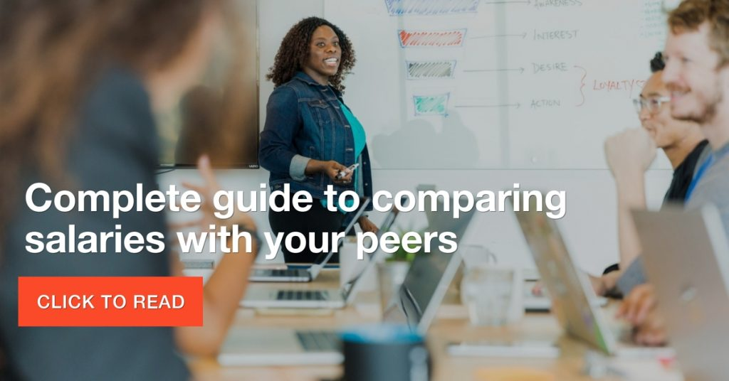 The complete guide to comparing salaries with your peers