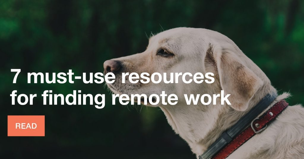 7 must-use resources for finding remote jobs