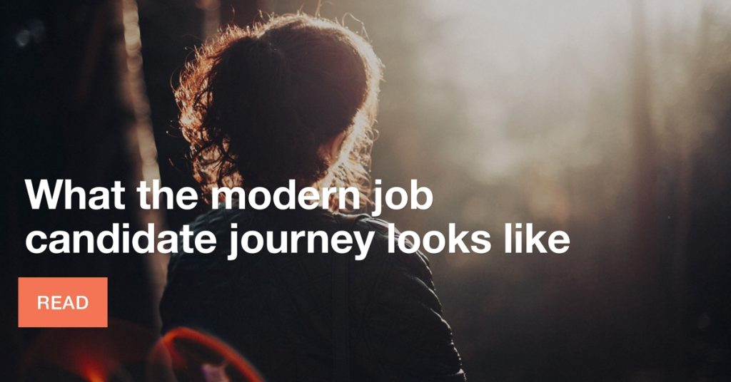 What the modern job candidate journey looks like