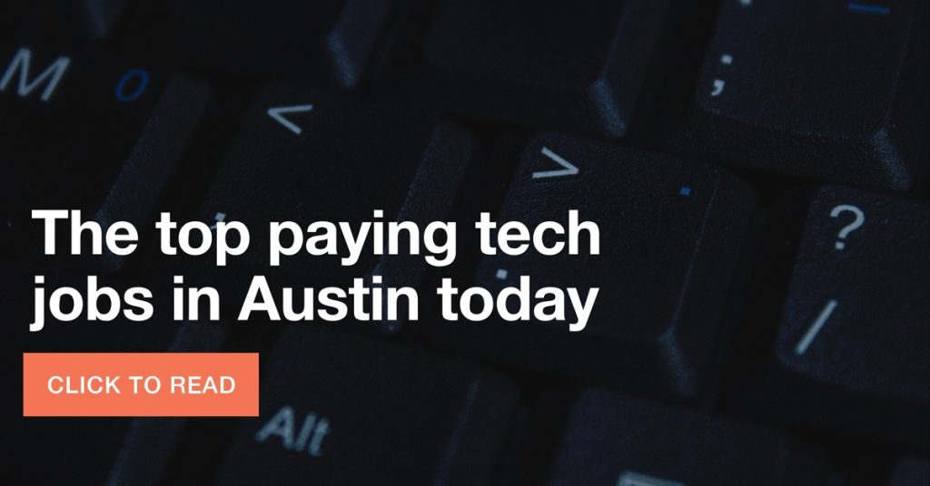 Top paying tech jobs in Austin
