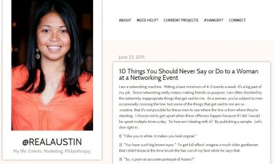 what not to do at a networking event