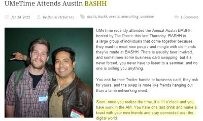 BASHH Austin