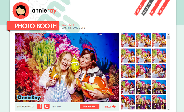 annie ray photobooth