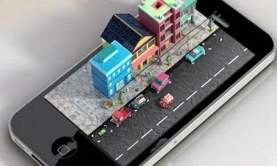 apple iphone hologram