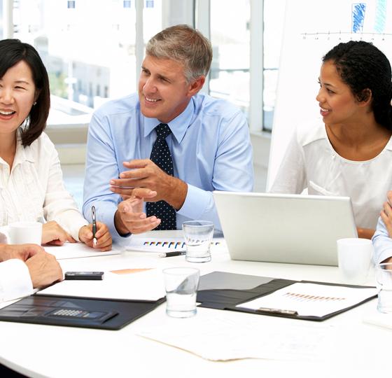 assertive broker meeting negotiation team