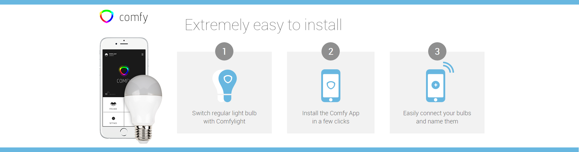 comfy smart light