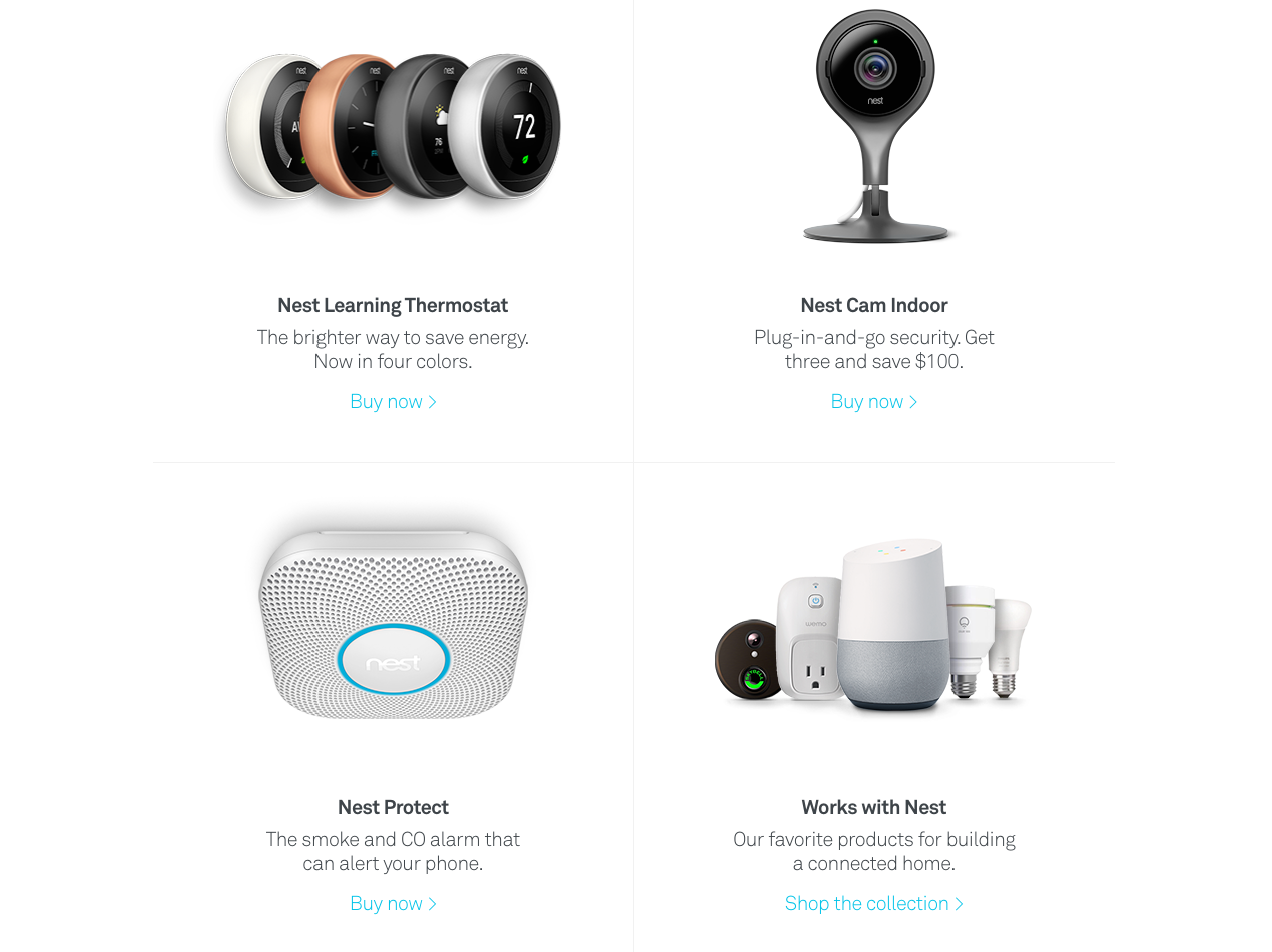 smart homes devices