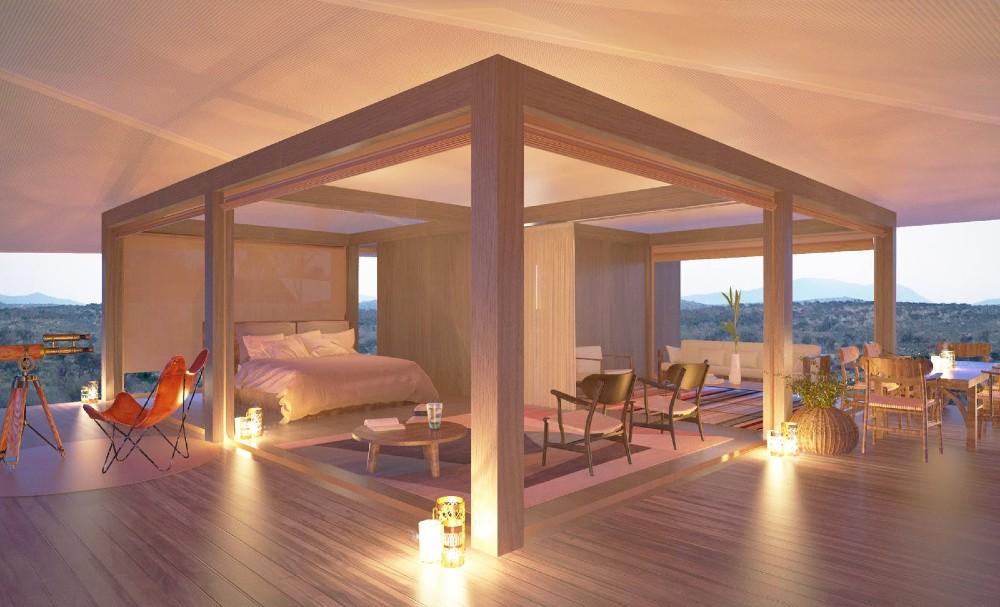 Habitas open room