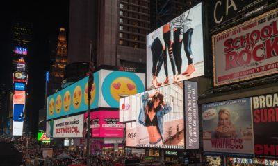 advertising on buildings