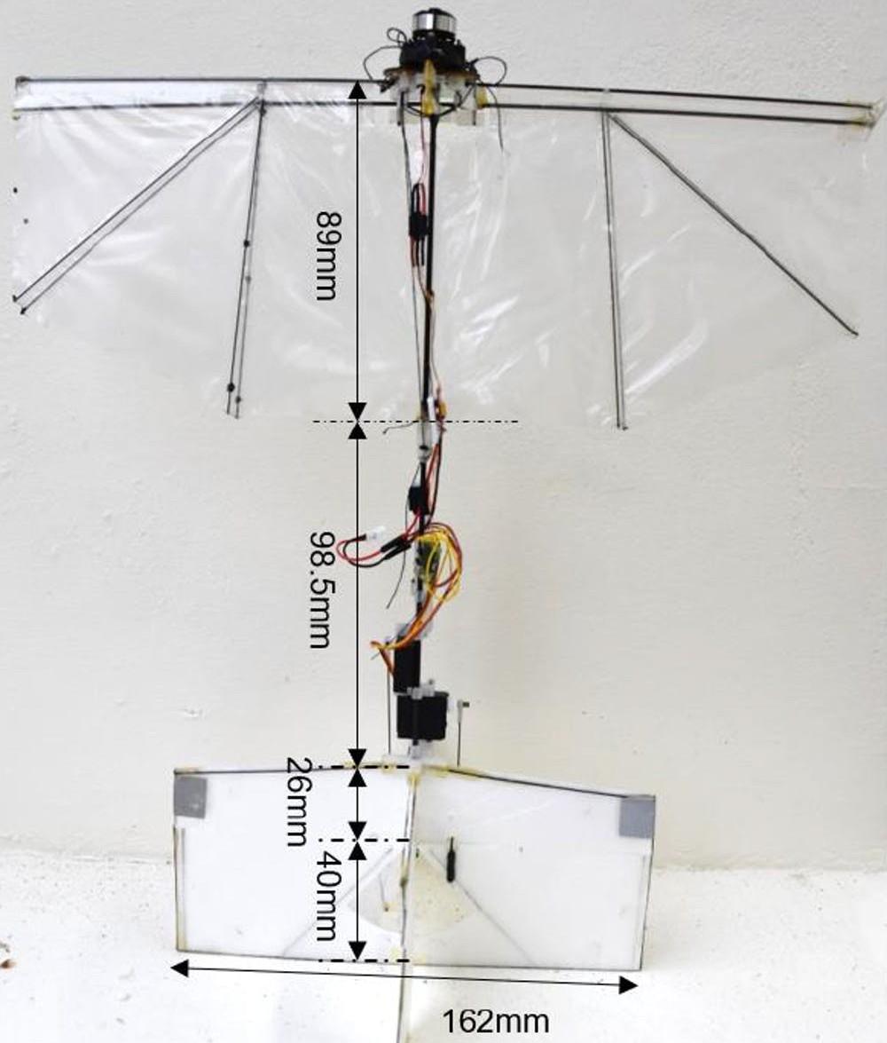 X-wing drones
