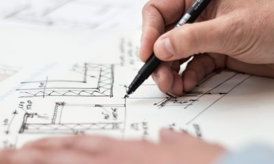 Pen drawing blueprints, another Zillow patent in the works