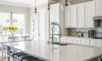 Open home and kitchen that home buyers will be considering.