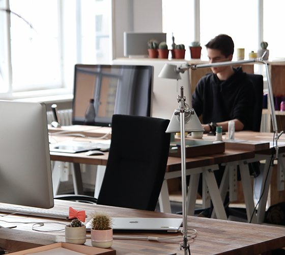 Open workspace, where resilience will be key to success.