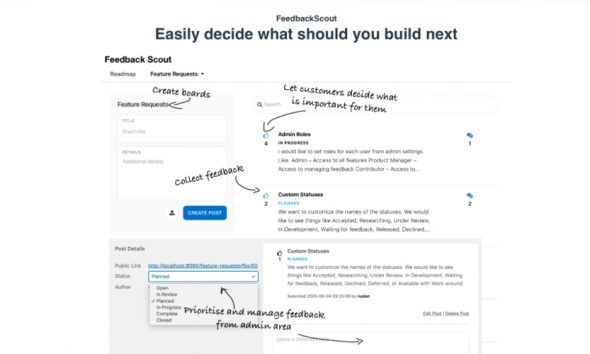 FeedbackScout is a new WordPress extension to help your feedback.
