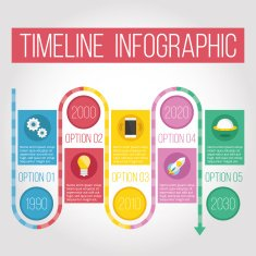 Example of a Timeline Infographic
