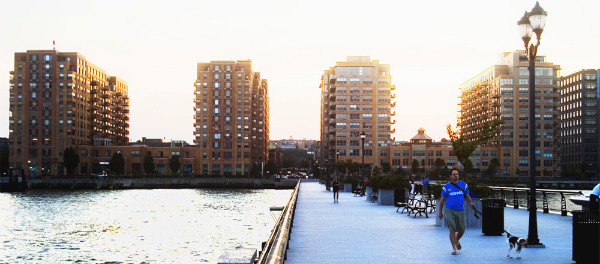 Image of the Hoboken, New Jersey Docks by r0sss