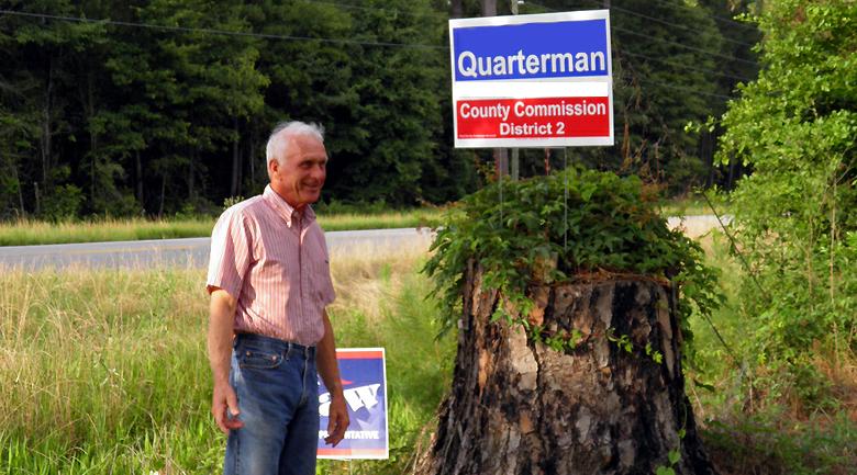 political yard signs vs. HOAs