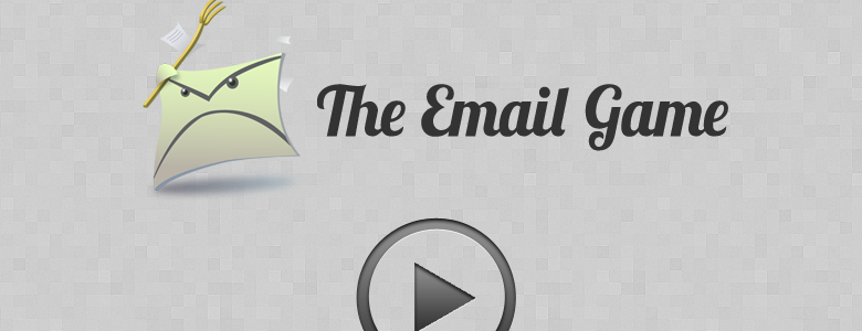 the email game by baydin