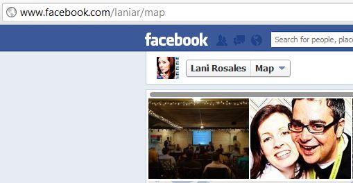 facebook map url