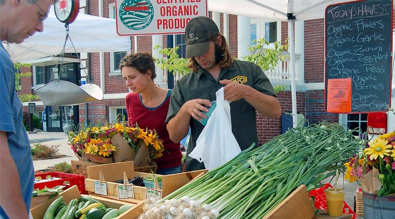 organic produce green living