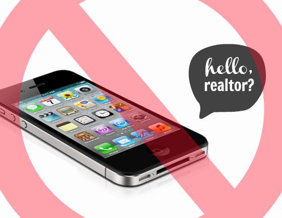 do not call realtor