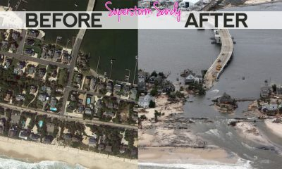 superstorm sandy before and after