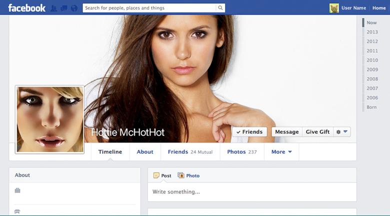 fake facebook spam