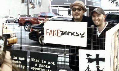 fake banksy