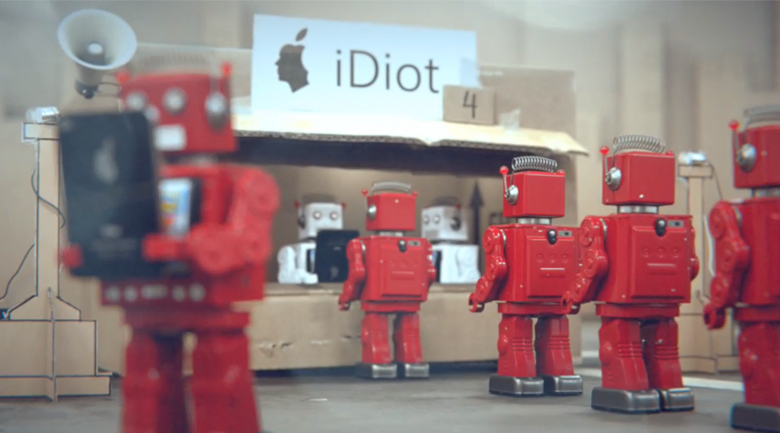idiot robots