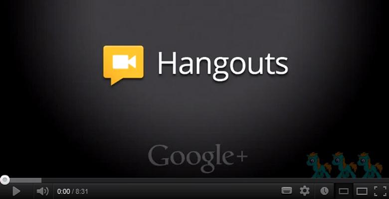 google hangout easter eggs