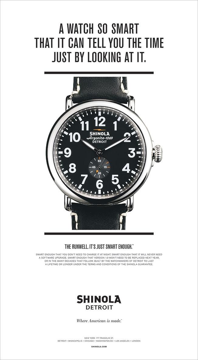 shinola vs. smartwatches
