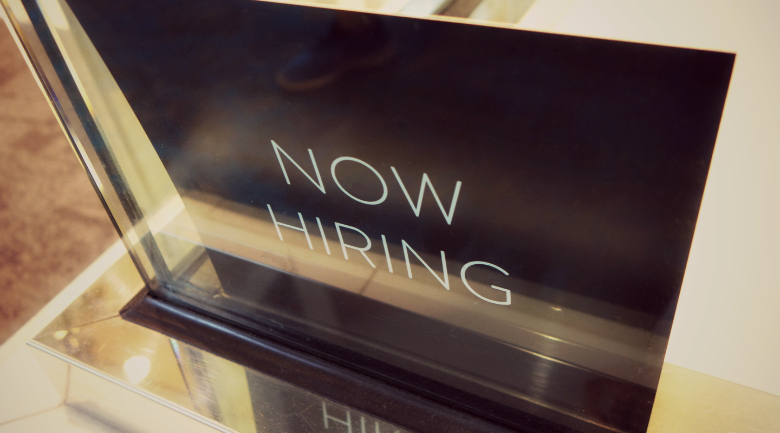 now hiring sign resume