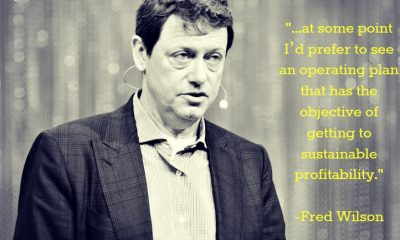 fred wilson startup advice