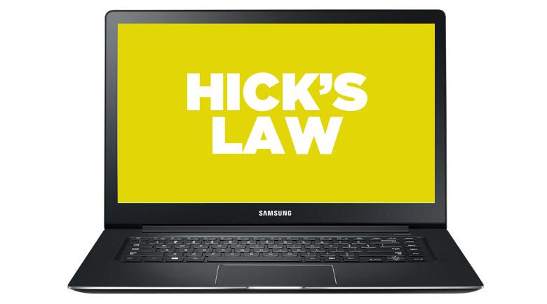 hicks law