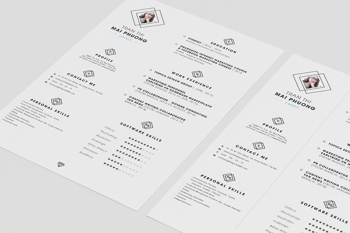 minimalist-resume