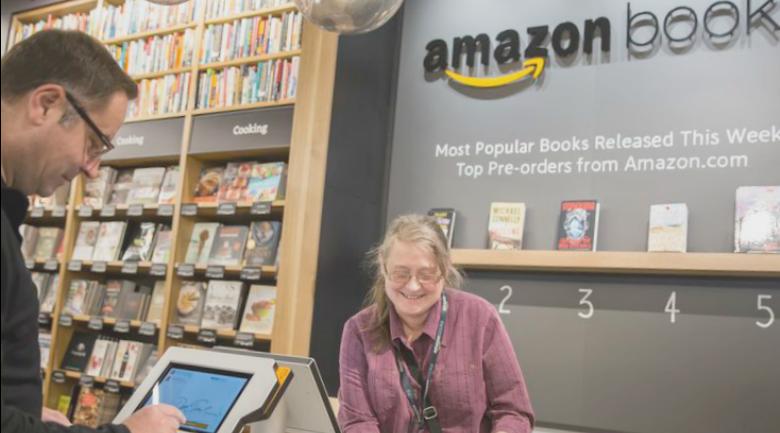 amazon book store retail