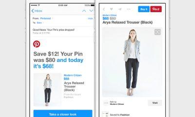 pinterest price drop notification