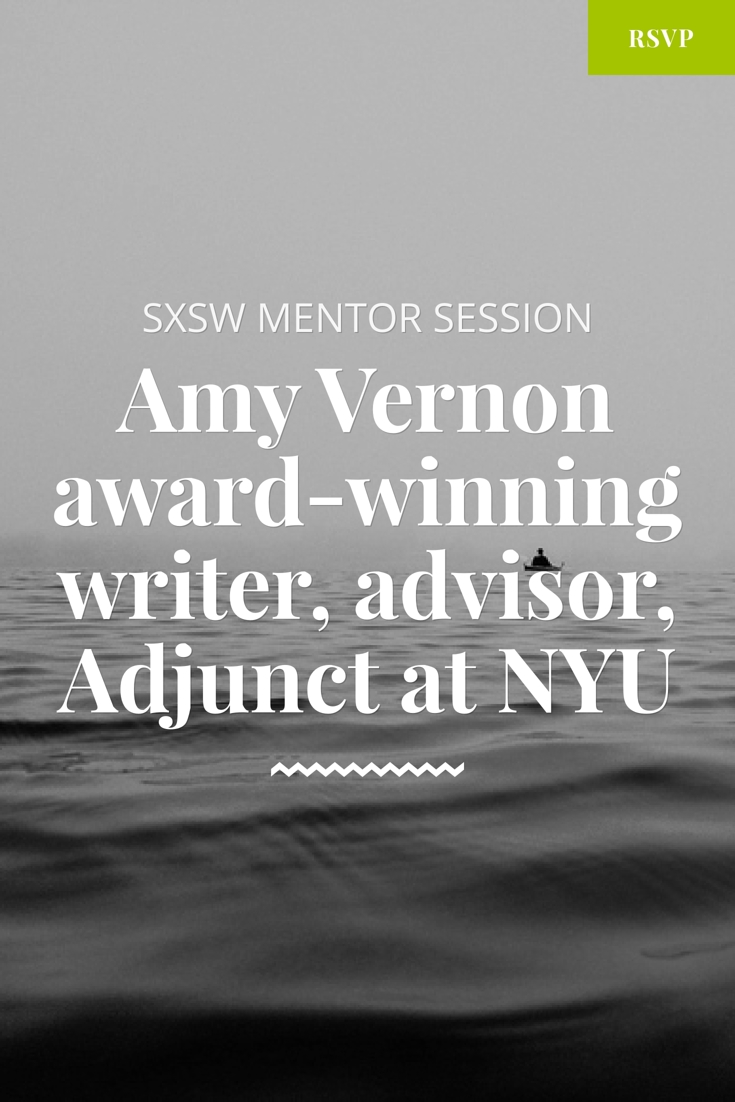 sxsw mentor session amy vernon