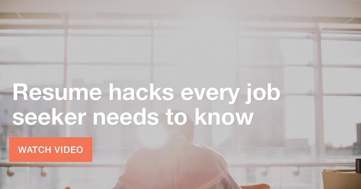resume-hacks-job-seekers-must-know