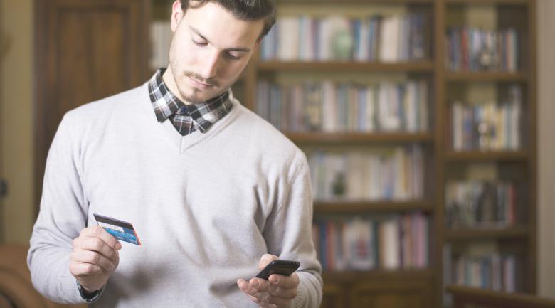 men shopping millennial retail