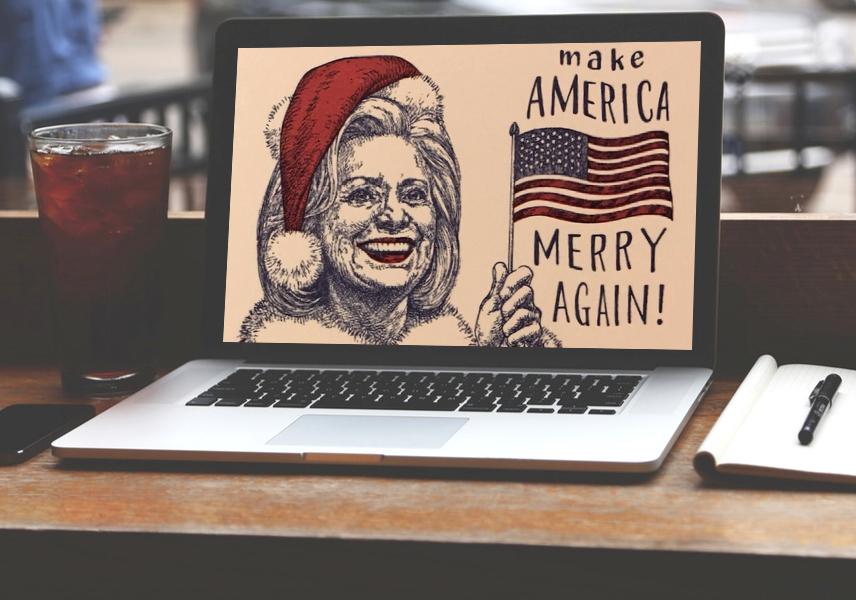 trump make america merry again