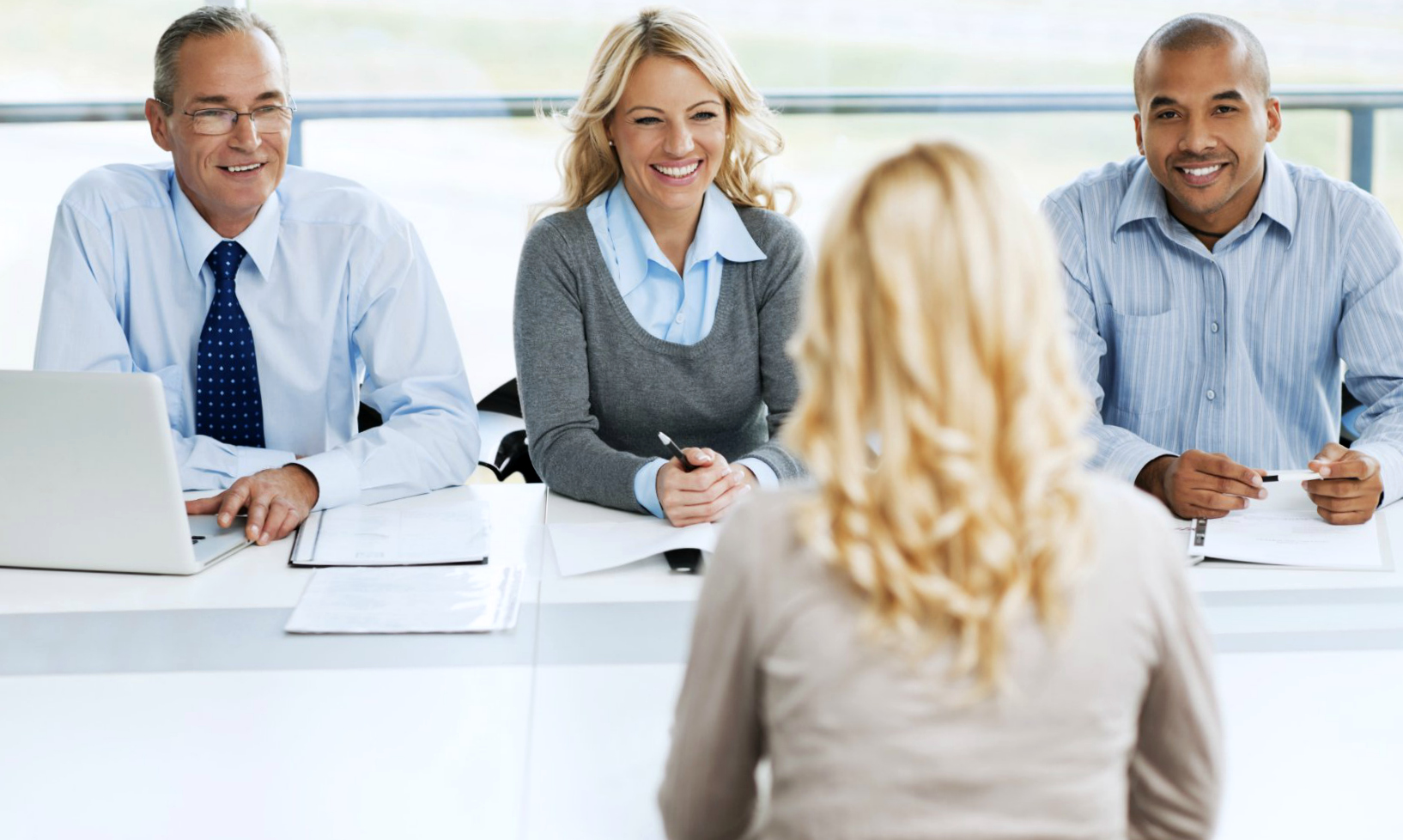 job interview green