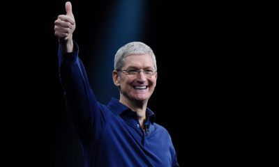 cook apple ceo tax cuts services
