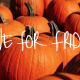 five for friday halloween