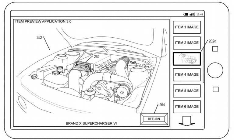 amazon augmented reality patent application