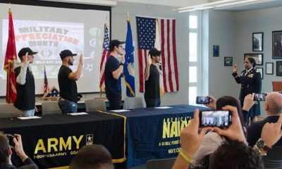 military signing day