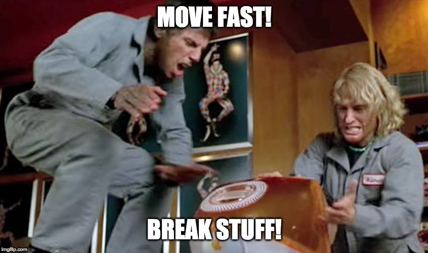 big tech move fast break stuff