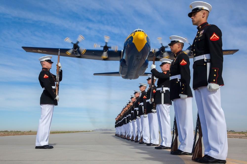 US Navy on deck
