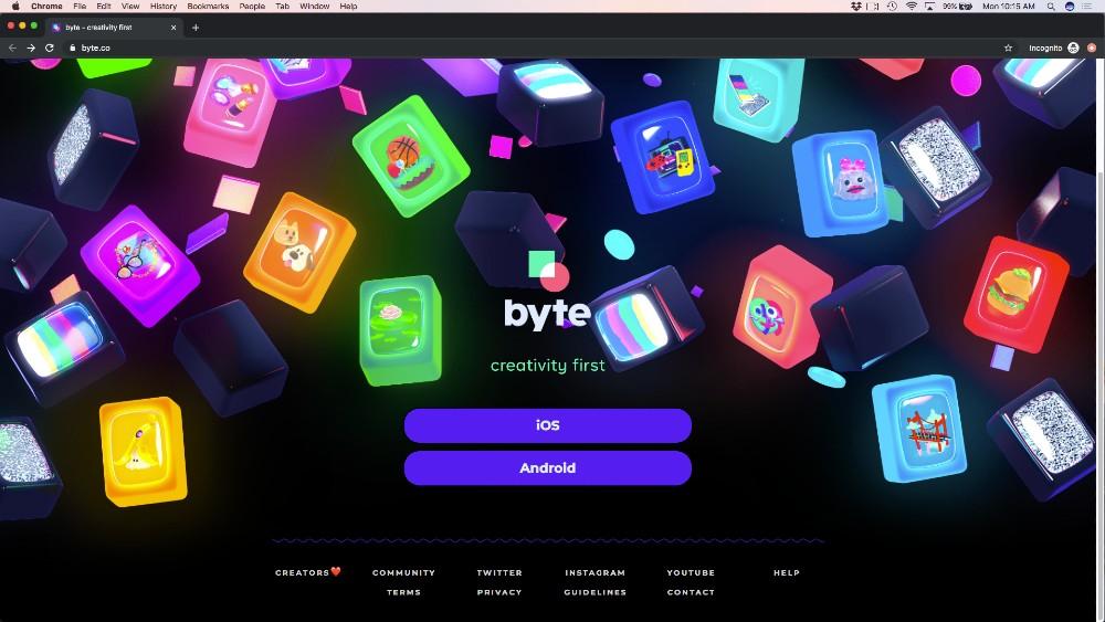 byte homepage